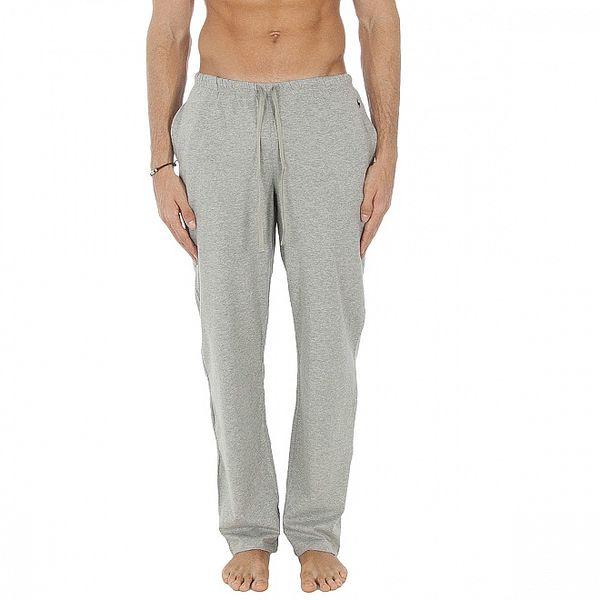 Pánske svetlo šedé pyžamové nohavice Polo Ralp Lauren