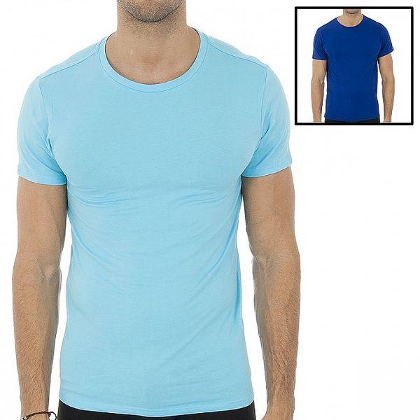 Set dvou modrých pánských triček Polo Ralp Lauren
