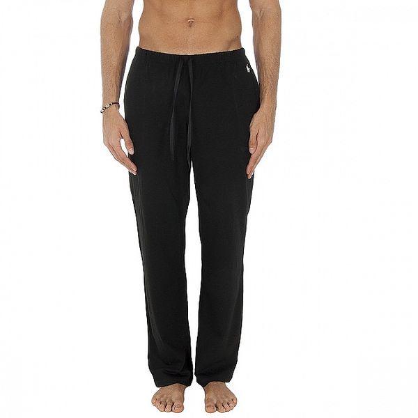 Pánske čierne pyžamové nohavice Polo Ralp Lauren