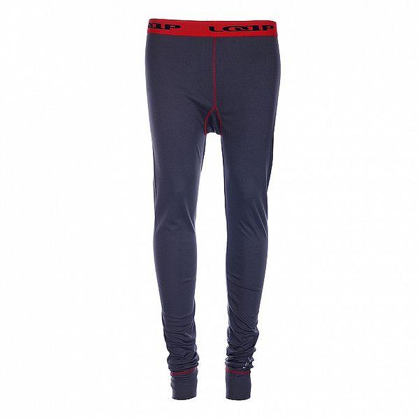 Dámské tmavě šedé podvlékací kalhoty Loap