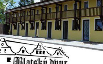 Na kole Blatskou krajinou, za výlety do jižních Čech! Dovolená na 3 nebo 7 dní s ubytováním pro 2 v apartmánech penzionu Blatský dvůr