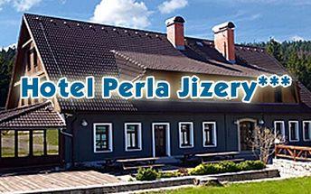 RELAX POBYT pro až 4 osoby na 3 dny v Hotelu Perla Jizery v Jizerských horách! Sauna, sekt, káva a dezert v ceně!