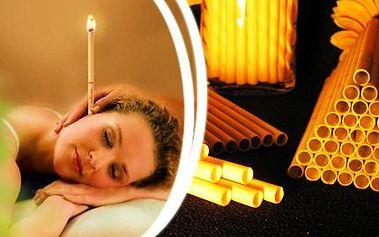 18x ušní svíce při problémech dýchacích cest, dutin, rýmě!