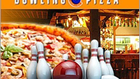 2 hodiny bowlingu + pizza