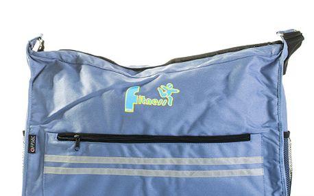 Modrá taška Fitness