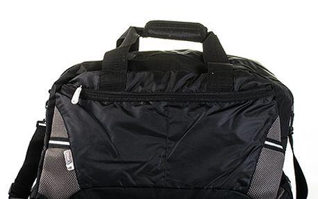 Velká černá sportovní taška