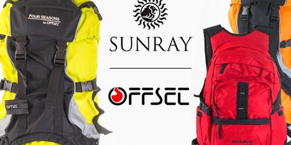 Sportovní batohy Offset – 4 barvy