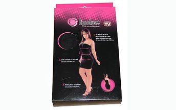 Zeštíhlující šaty za 189 Kč. Vytvarují a pomohou zeštíhlit křivky vašeho těla, jsou bezešvé a dokonale přilnou k tělu. Perfektní doplněk, který oceníte i vy!