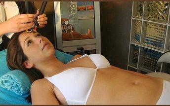 Kozmetická lymfodrenážna masáž tváre + zjemňovanie vrások