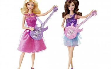 Barbie kamarádka se třpytivou kytarou