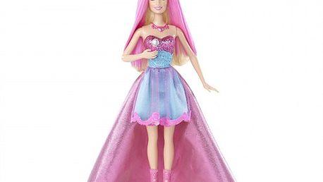 Barbie zpívající princezna a popová hvězda 2v1znového filmu.