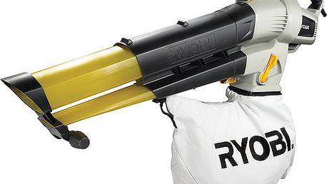 Super výkonný vysavač/foukač listí RYOBI RBV 3000 VP