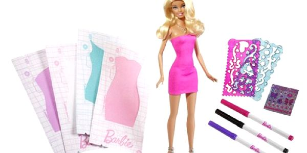 Barbie design studio plné originálních zdobítek pro panenku