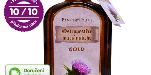 Ostropestřecový olej – doručení zdarma
