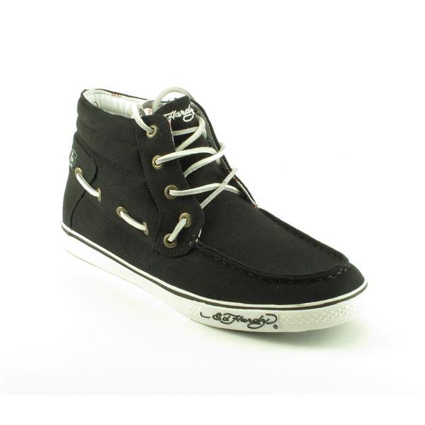 Pánské boty Ed Hardy kotníčkové černé