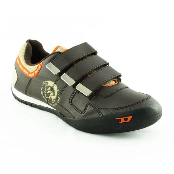 Pánské boty Diesel černo-oranžové