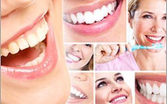 Bělení zubů (bez peroxidu)