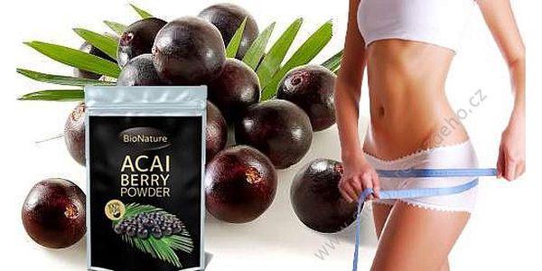 Acai Berry prášek - antioxidant ve formě prášku! Obsahuje více Acai Berry jako kterékoliv tablety a kapsle na trhu!