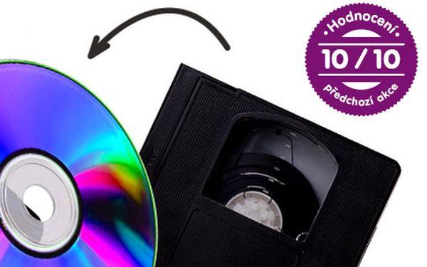 Převod videokazety nebo kamery na DVD