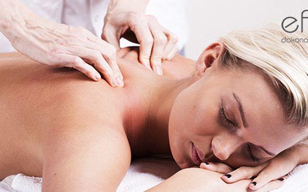 Klasická masáž chrbta, šije, rúk a nôh