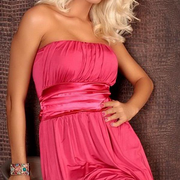 Elegantní šatičky růžové, budte v létě IN