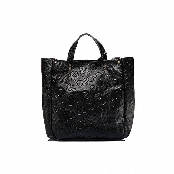 Dámska čierna kabelka Belle & Bloom