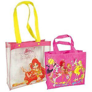 Elegantní dívčí taška s popruhem přes rameno 2v1 2in1 Bloom - Winx Club