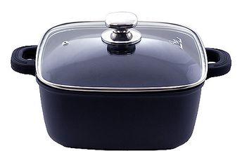 Špičkový titanový hrnec s poklicí 24cm - Smart Cook