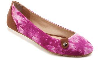 Dámské baleríny Red Hot purpurová batika