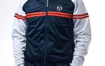 Sportovní modro-bílá bunda Sergio Tacchini