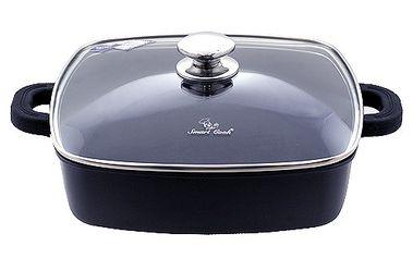 Špičkový titanový hrnec s poklicí 28cm - mělký - Smart Cook