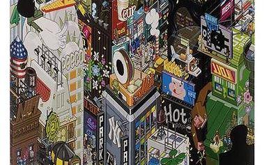 Puzzle HEYE 1500 dílků - eBoy, New York / Triangular