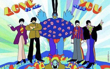 Puzzle HEYE 1000 dílků - Beatles: Yellow Submarine - Láska