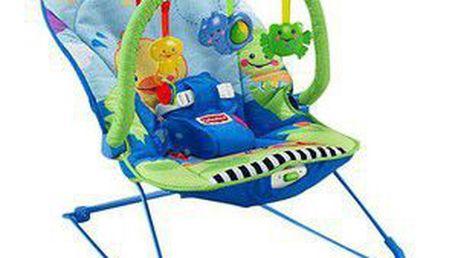 Sedátko pro miminka s uklidňujícími vibracemi MATTEL Fisher Price