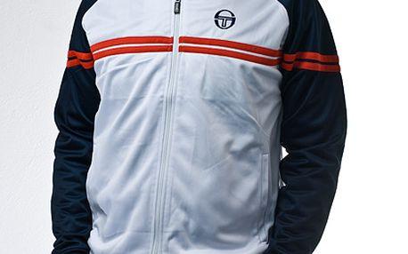 Sportovní bílo-modrá bunda Sergio Tacchini