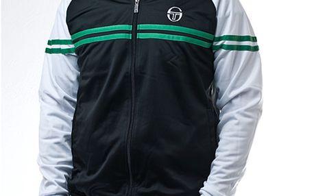 Sportovní černo-bílá bunda Sergio Tacchini