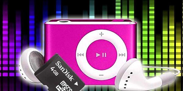Mini MP3 přehrávač za super cenu! Tip na skvělý dárek, výběr z několika barev