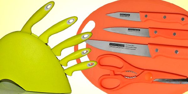 Sady nožov z nerezovej ocele
