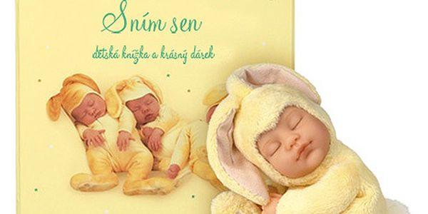 Kniha Sním sen - dárkové balení plyšového králíčka