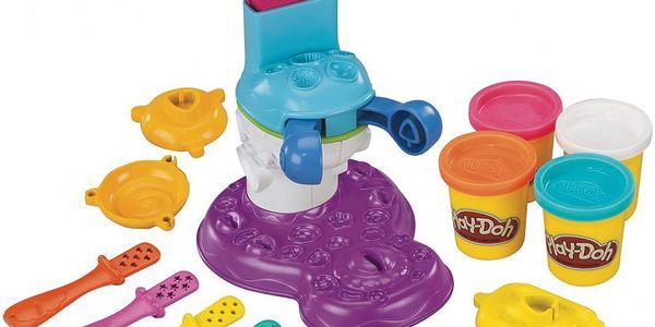 Výroba nanuků a lízátek HASBRO Play-Doh V. Děti si mohou vyrobit oblíbené sladkosti.