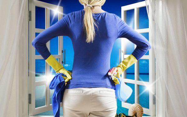 Pečlivé mytí oken všech druhů