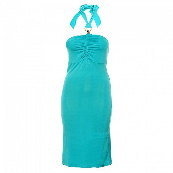 Dámské tyrkysové šaty Phard