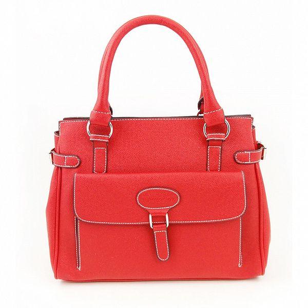 Dámska červená kabelka Hippyssidy