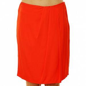 Dámska červená sukňa nad kolená Roberto Verino