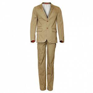 Pánský béžový oblek Roberto Verino