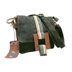 Dámská taška přes rameno Red Hot dark jeans