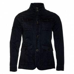 Pánská temně modrá jarní bunda Roberto Verino