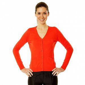 Dámský červený svetřík Roberto Verino