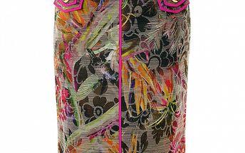 Dámska extravagantná púzdrová sukňa s vreckamii Roberto Verino