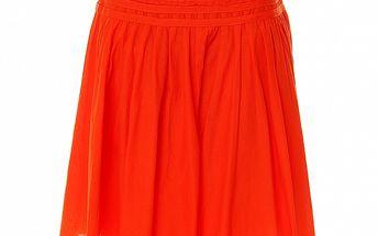 Dámská červená bavlněná sukně Roberto Verino